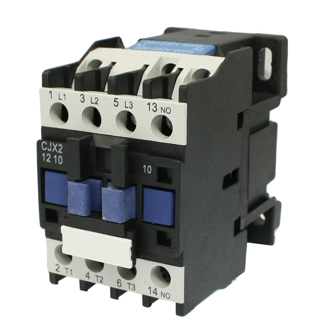 CJX2-1210 690V Ui 12A 220 Volt 3 Poles AC Contactor 220-240V 60HZ Coil