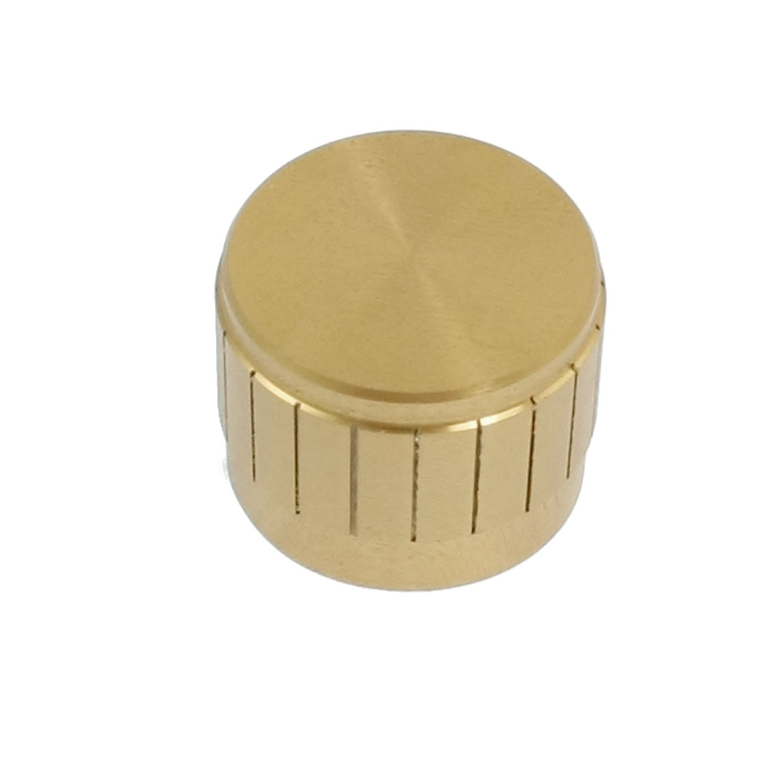 21mm x 17mm Potentiometer Control Volume Rotary Knob Cap Gold Tone