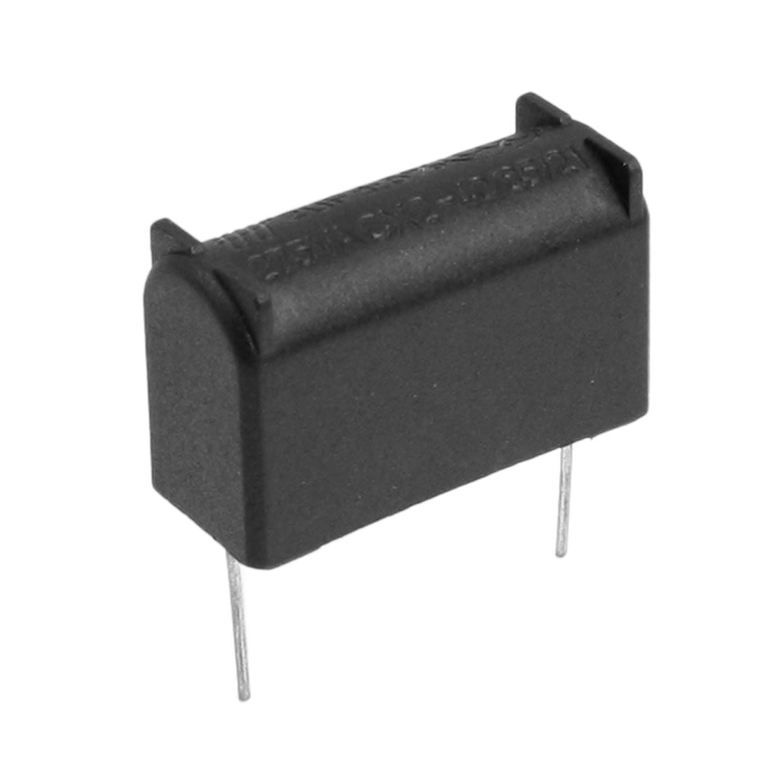 275VAC 2uF Black Plastic Shell Polypropylene Film Capacitor for Induction Cooker