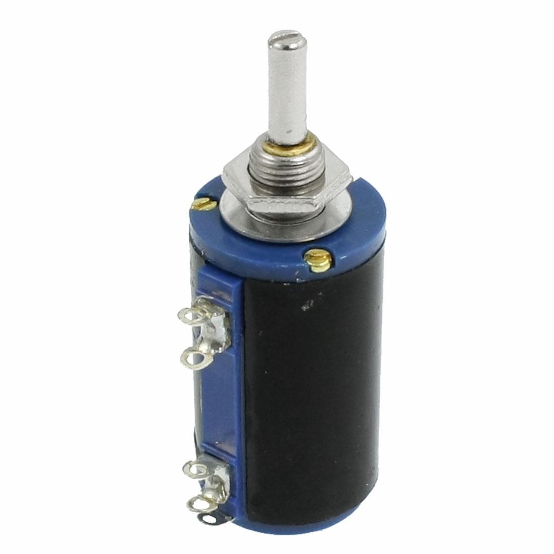 WXD3-13 4.7K Ohm 2W Watt Rotary Wirewound Multiturn Potentiometer