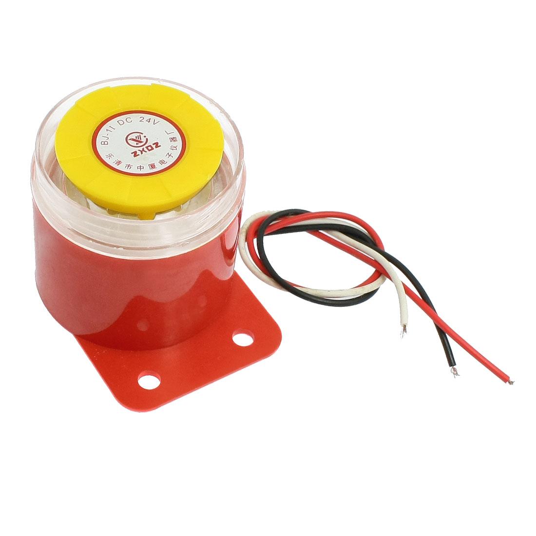 AC220V Plastic Housing Multifunction Alarm Buzzer Ringer Annunciator