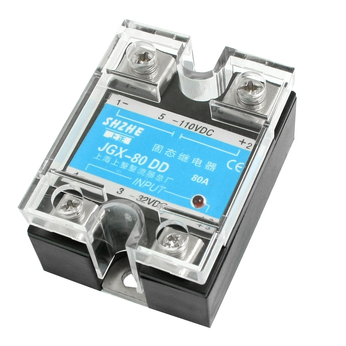 JGX-80DD DC to DC Covered Solid State Module Relay DC 3-32V DC 5-110V