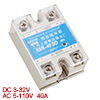 SSR-40DD DC to DC Covered Solid State Relay DC 3-32V DC 5-110V