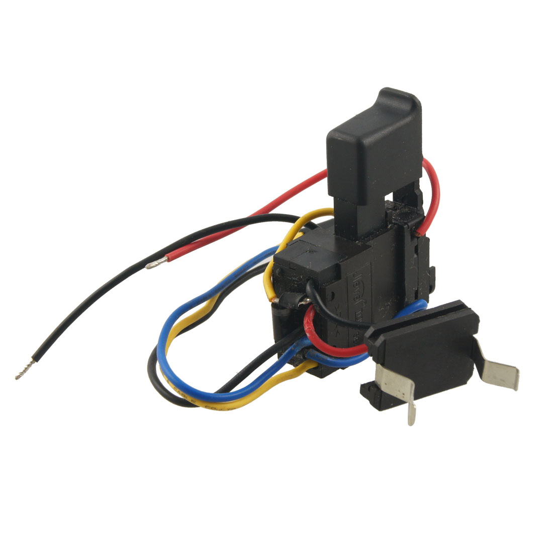 Black 7.2-24V DC 12A Electric Tool Spare Part Charge Speed Switch