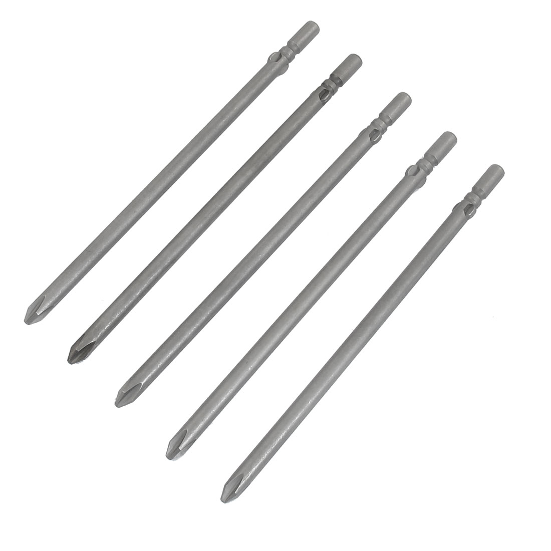 Magnetic 3mm PH2 Phillips Cross Head Screwdriver Bits 5 Pcs
