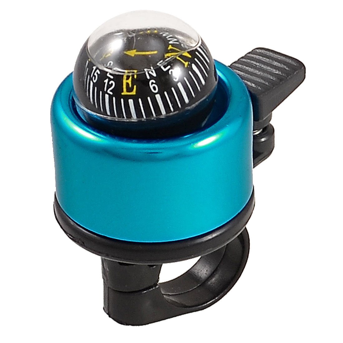 Round Compass Blue Black Metal Ring Bell Horn Alarm for Bicycle