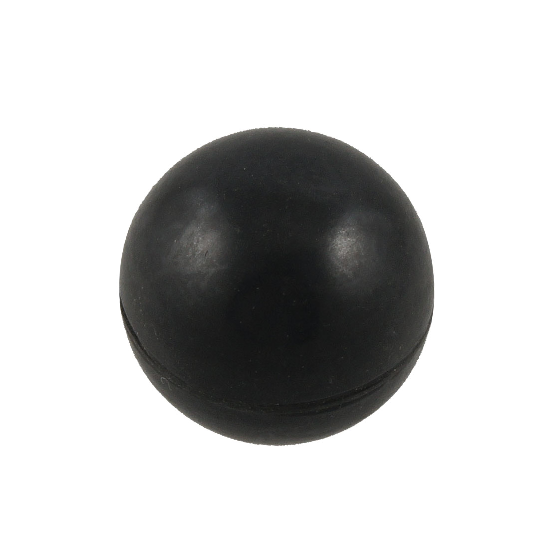 Ball Shaped 10mm Thread Inner Diameter Black Metal Screw Nut