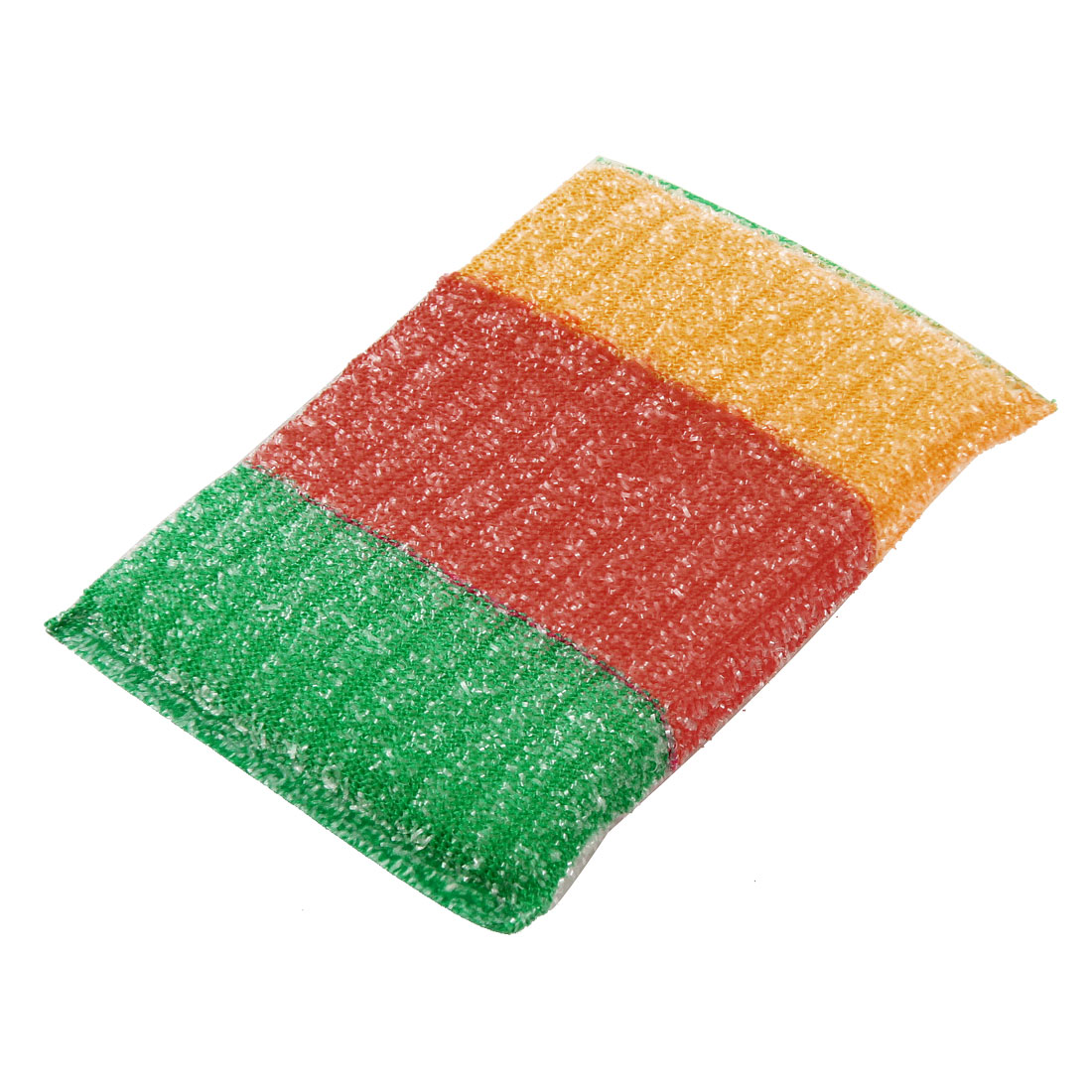 Kitchen Colorful Scrub Sponge Padded Dish Pad Bowl Cup Cleaner