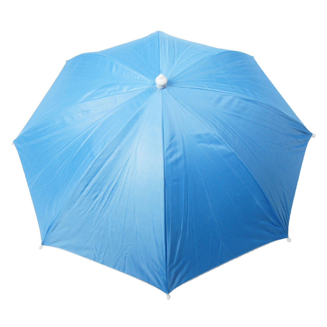 Portable Light Blue Outdoor Sports Fishing Umbrella Hat