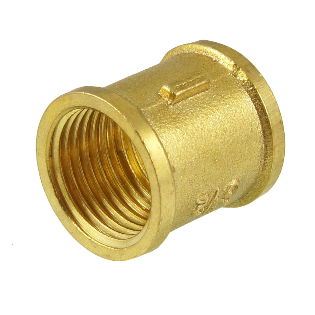 "G 1/2"" Female Thread Brass Straight Coupling Connector for Water Air Fuel Pipe"