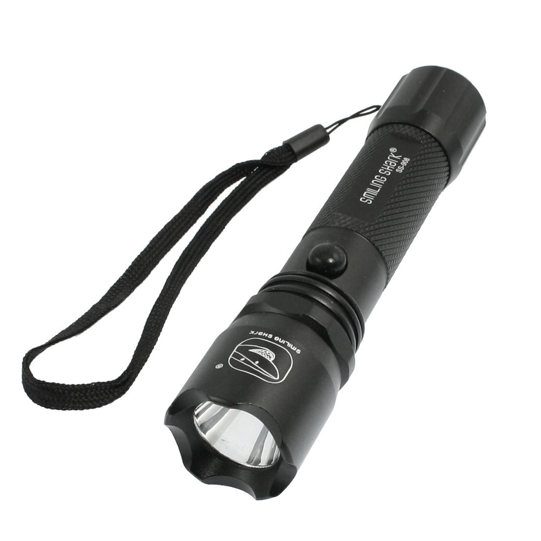 260 Lumens Rechargeable White LED Light Flashlight Torch w 2 Charger