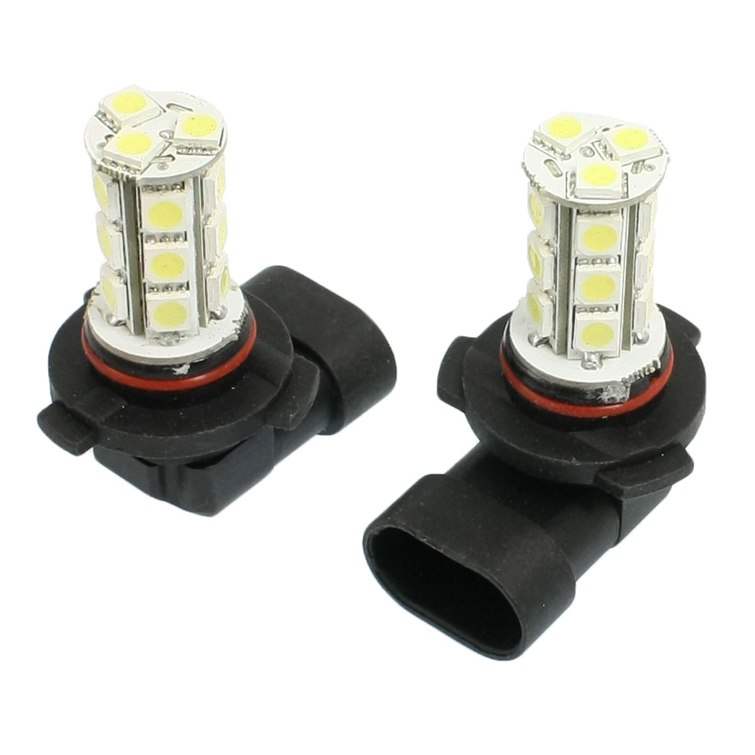 2 x White 9005 5050 SMD 18 LED Bulbs for Car Driving Fog Lights