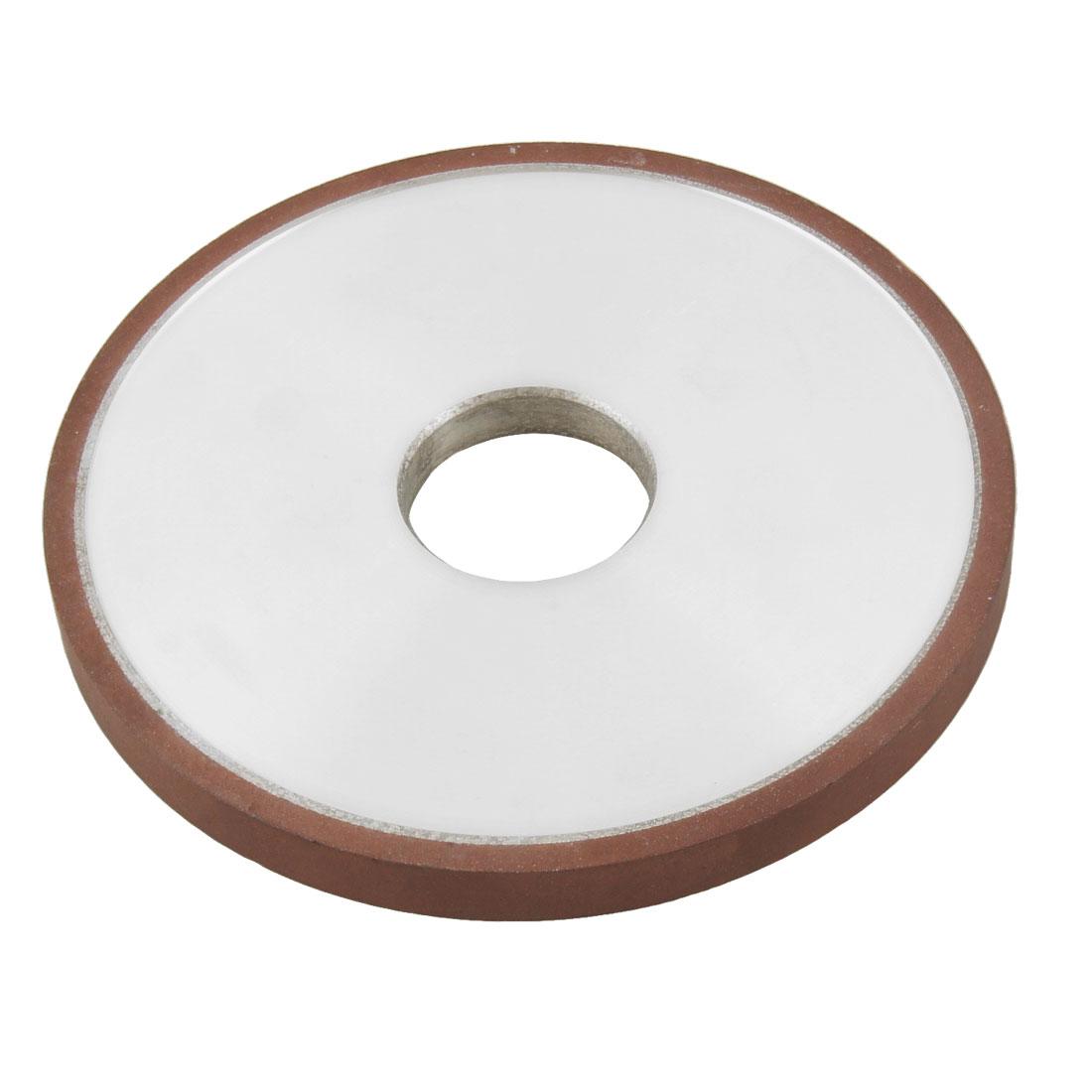 125mm x 32mm 240 Grit 75% Resin Bond Plain Type Diamond Grinding Wheel Grinder