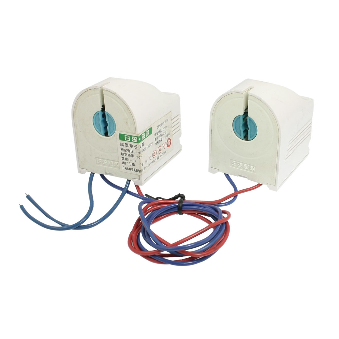 110V-280V Protective Pair Fluorescent Lamp Tube Holder Ballast
