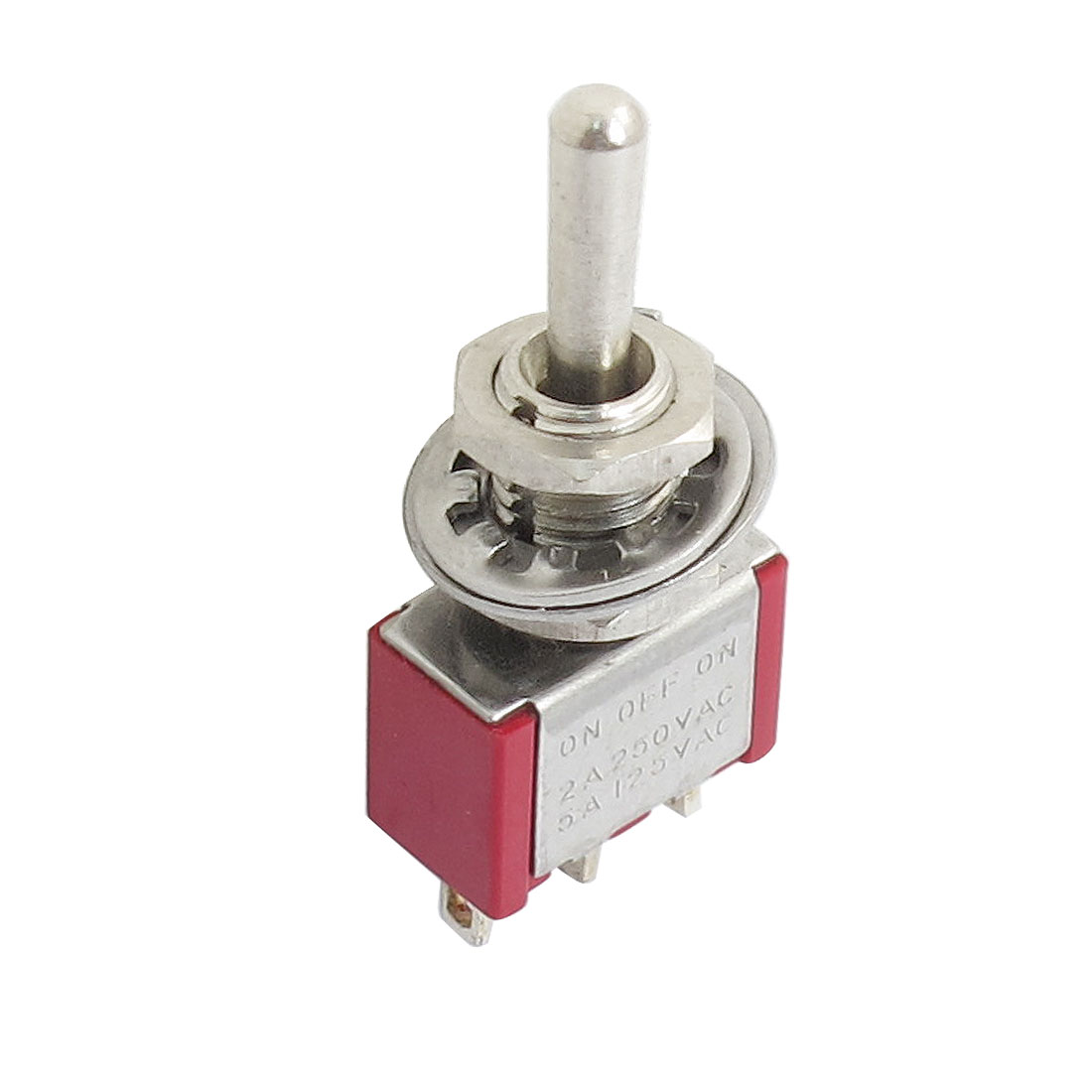 On/Off/On 3 Terminals 3 Position SPDT Toggle Switch AC 250V 2A 125V 5A