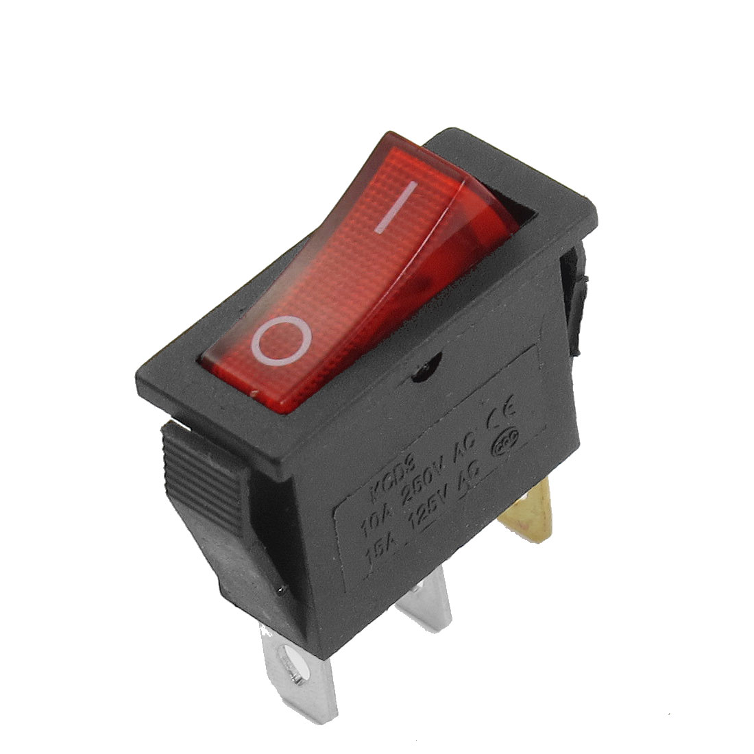 SPDT 2 Position 3 Pins AC 10A/250V 15A/125V Snap in Boat Rocker Switch