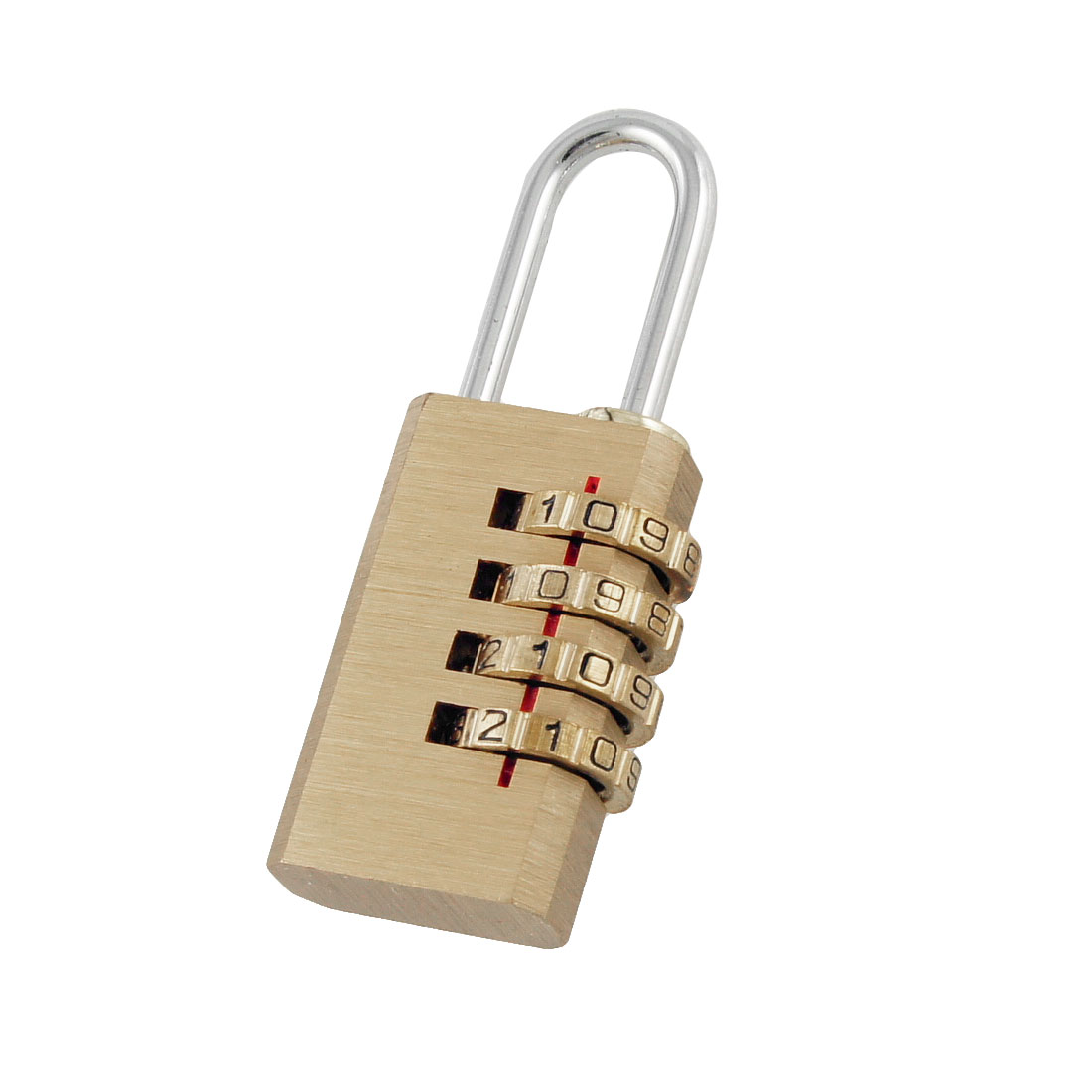 Gold Tone Digital Resettable Safety Combination Code Password Lock