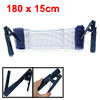 "1.8"" Long Table Tennis Nylon Net Ping Pong Clamp Standing Post Set"
