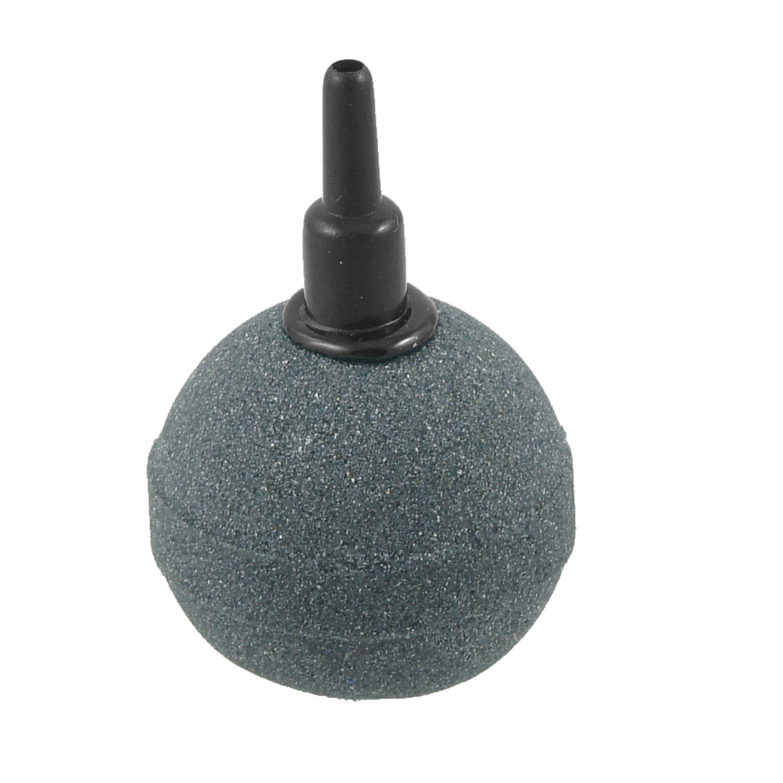"Aquarium Fish Tank 1.6"" Dia Dark Gray Mineral Bubbles Release Air Stone Airstone"