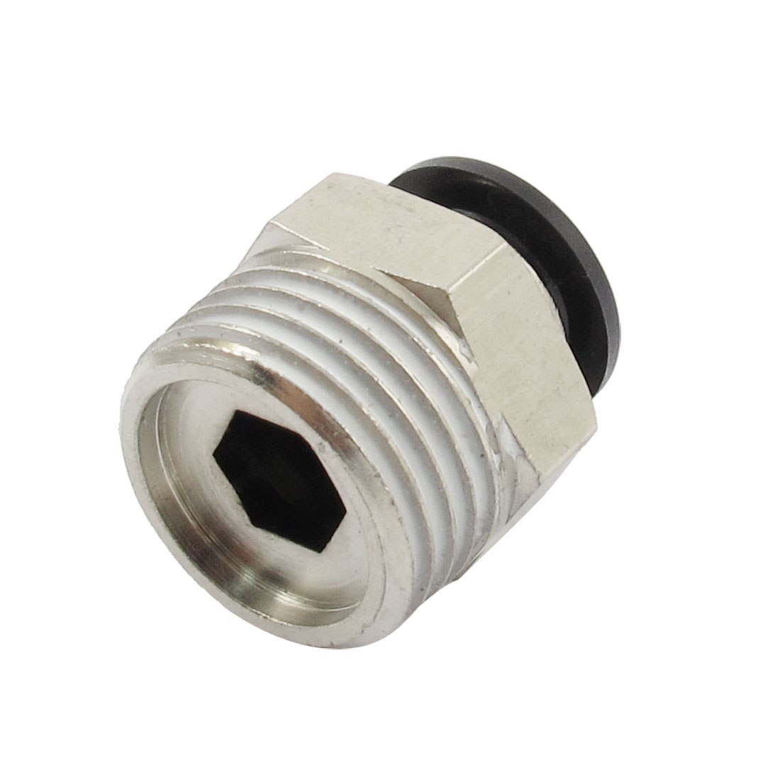 "1/2"" PT Male Thread 10mm Push In Joint Pneumatic Connector Quick Fitting"