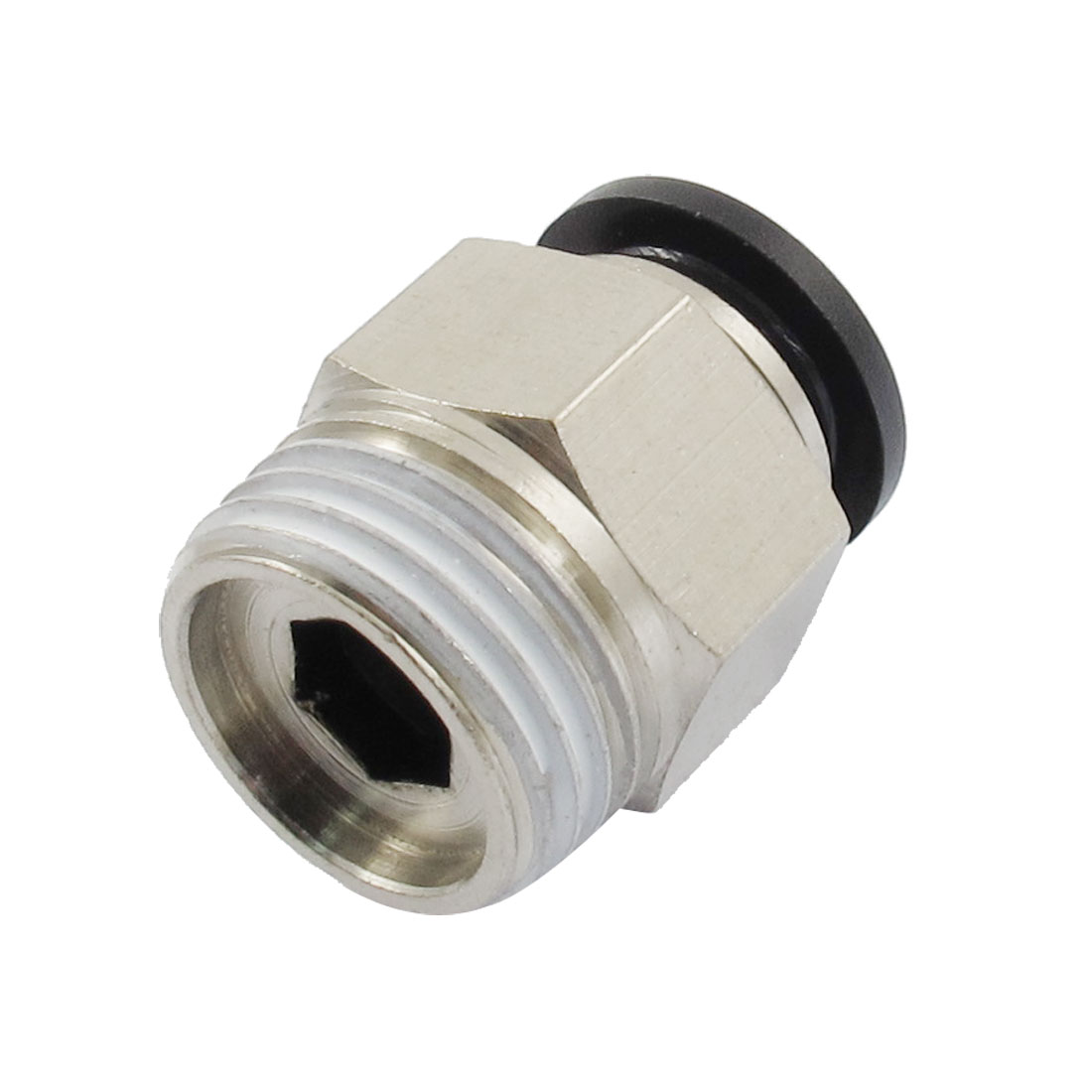 "1/2"" PT Male Thread 12mm Push In Joint Pneumatic Connector Quick Fitting"