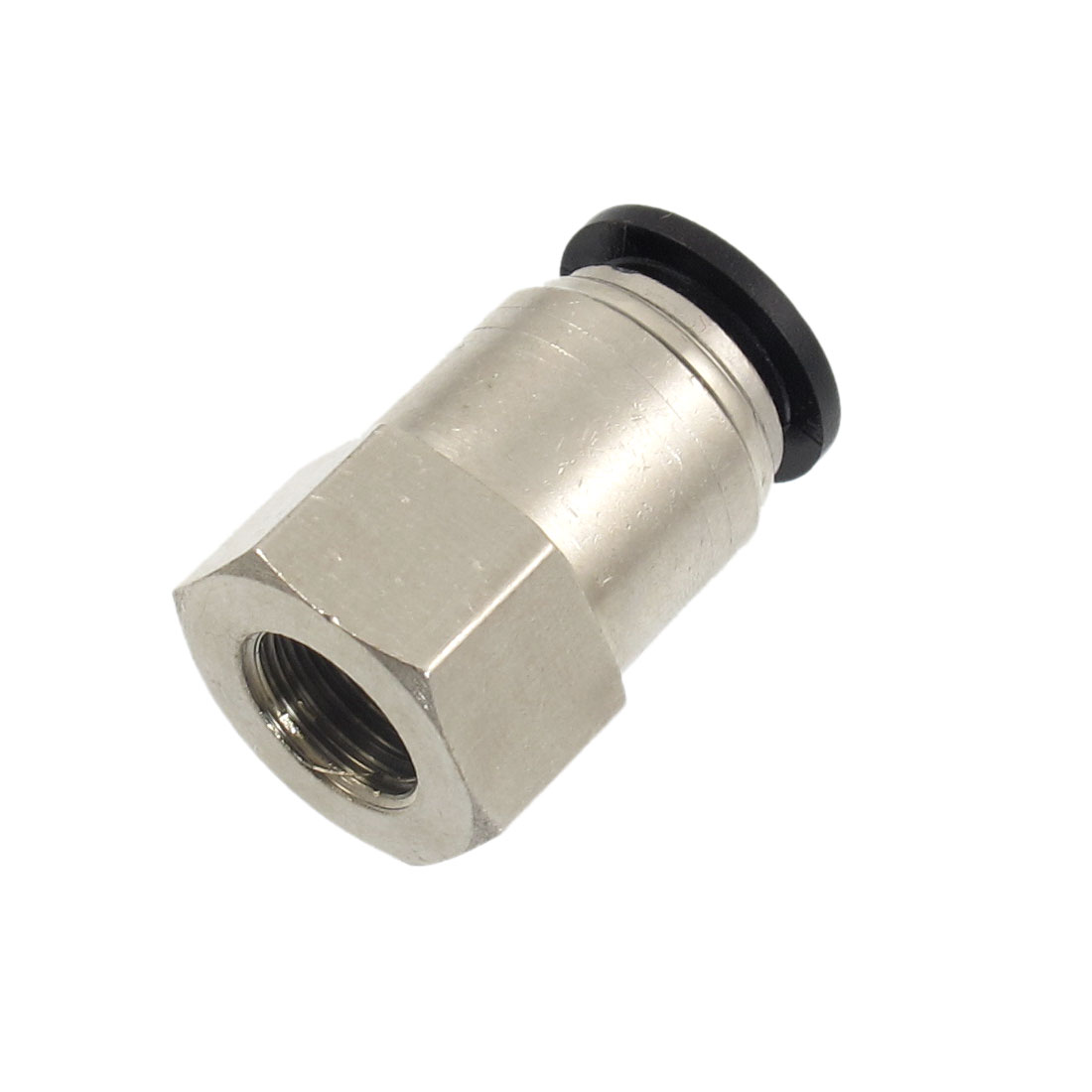 "1/4"" PT Female Thread 12mm Push In Joint Pneumatic Quick Fitting"