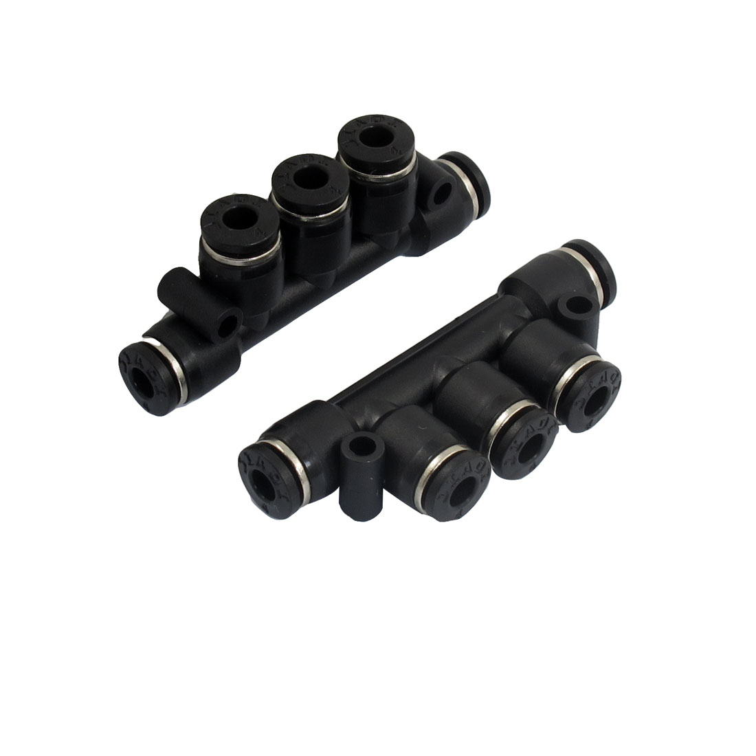10 x Pcs Air Pneumatic 5 Ways 4mm to 4mm Push in Connectors Quick Fittings
