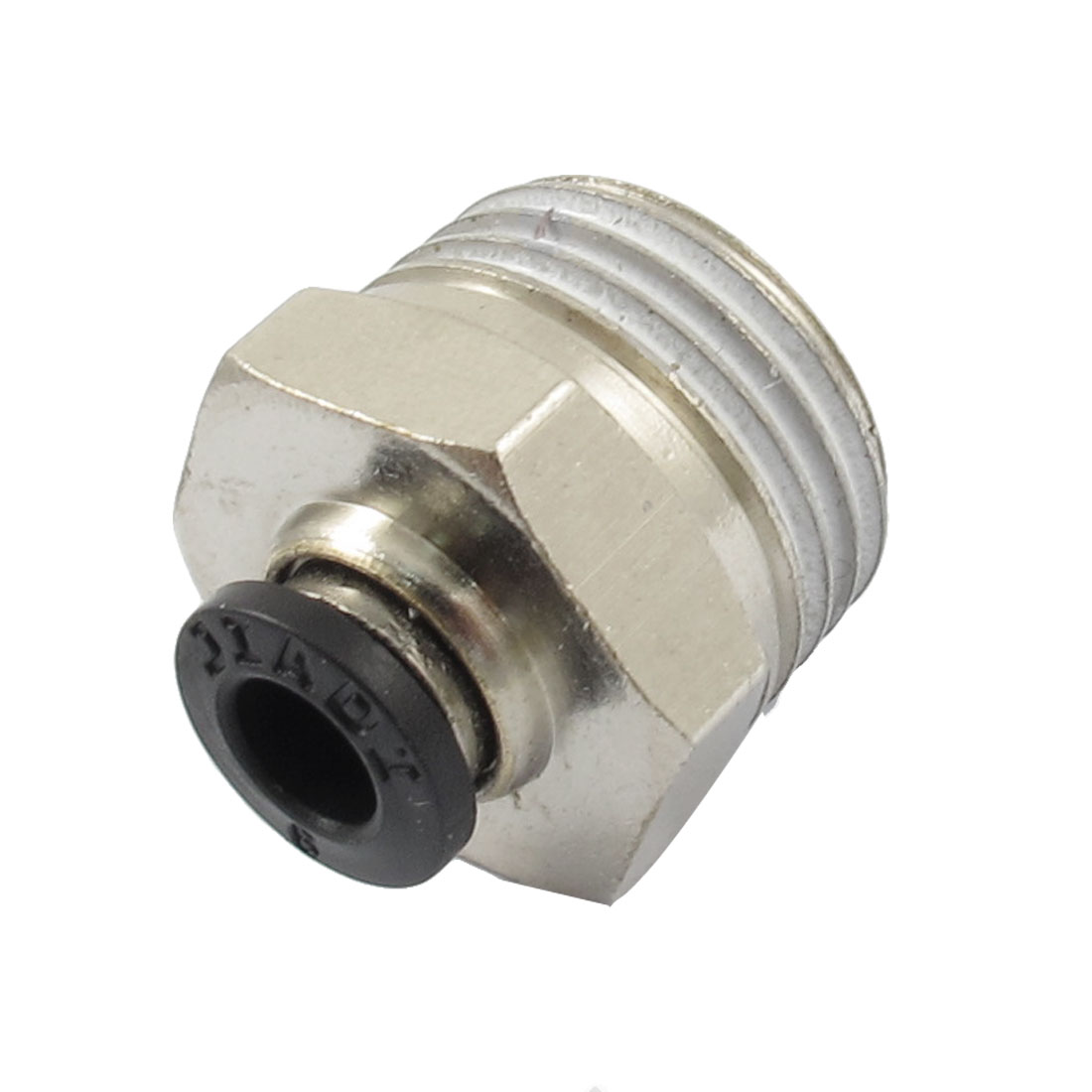 "1/2"" PT Male Thread 6mm Push In Joint Pneumatic Connector Quick Fitting"