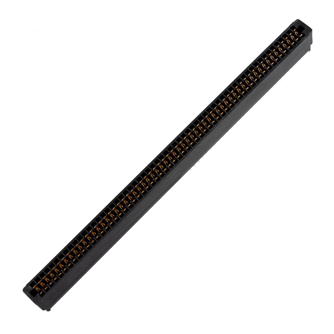 Black Double Rows 120 Pins 2.54mm Pitch PCB Board Socket Headers