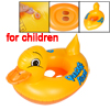 Yellow Duck Pattern Inflatable Paddle Floating Swimming Boat for Kids
