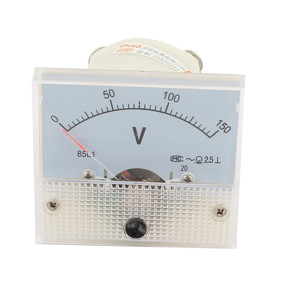 Screw Mounted Electric Voltage Measuring Analog AC 150V Voltmeter Gauge