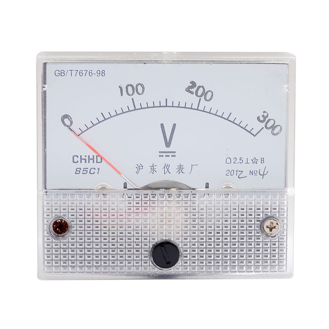 Class 2.5 Accuracy DC 0-300V Scale Analog Voltmeter Gauge Panel