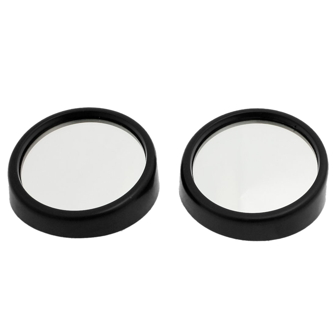 2 Pcs Black Wide Angle Car Truck Rear View Blind Spot Mirror 2.2""