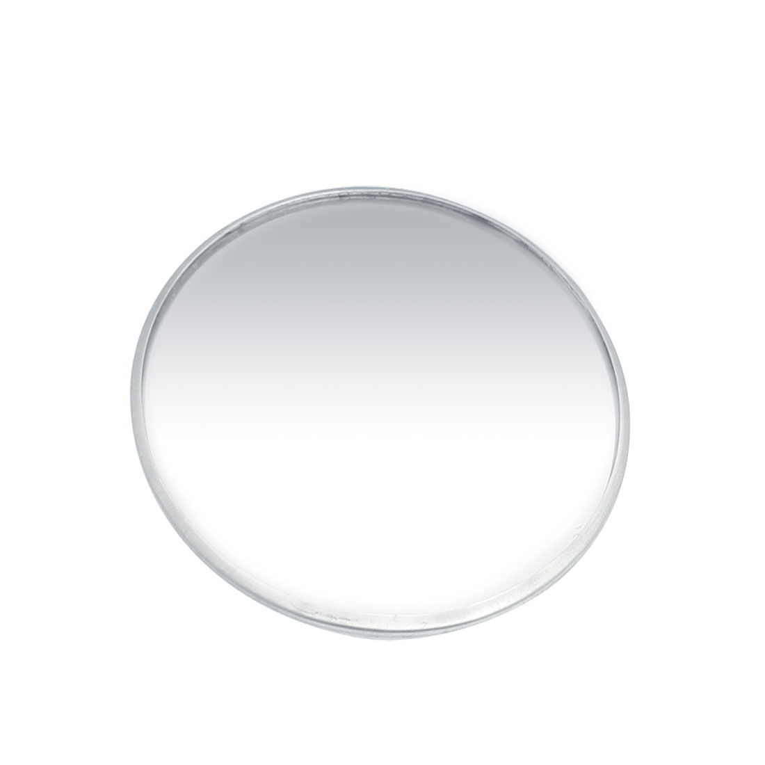 "Adhesive 3"" Round Side Rearview Blind Spot Mirror Silver Tone for Car"