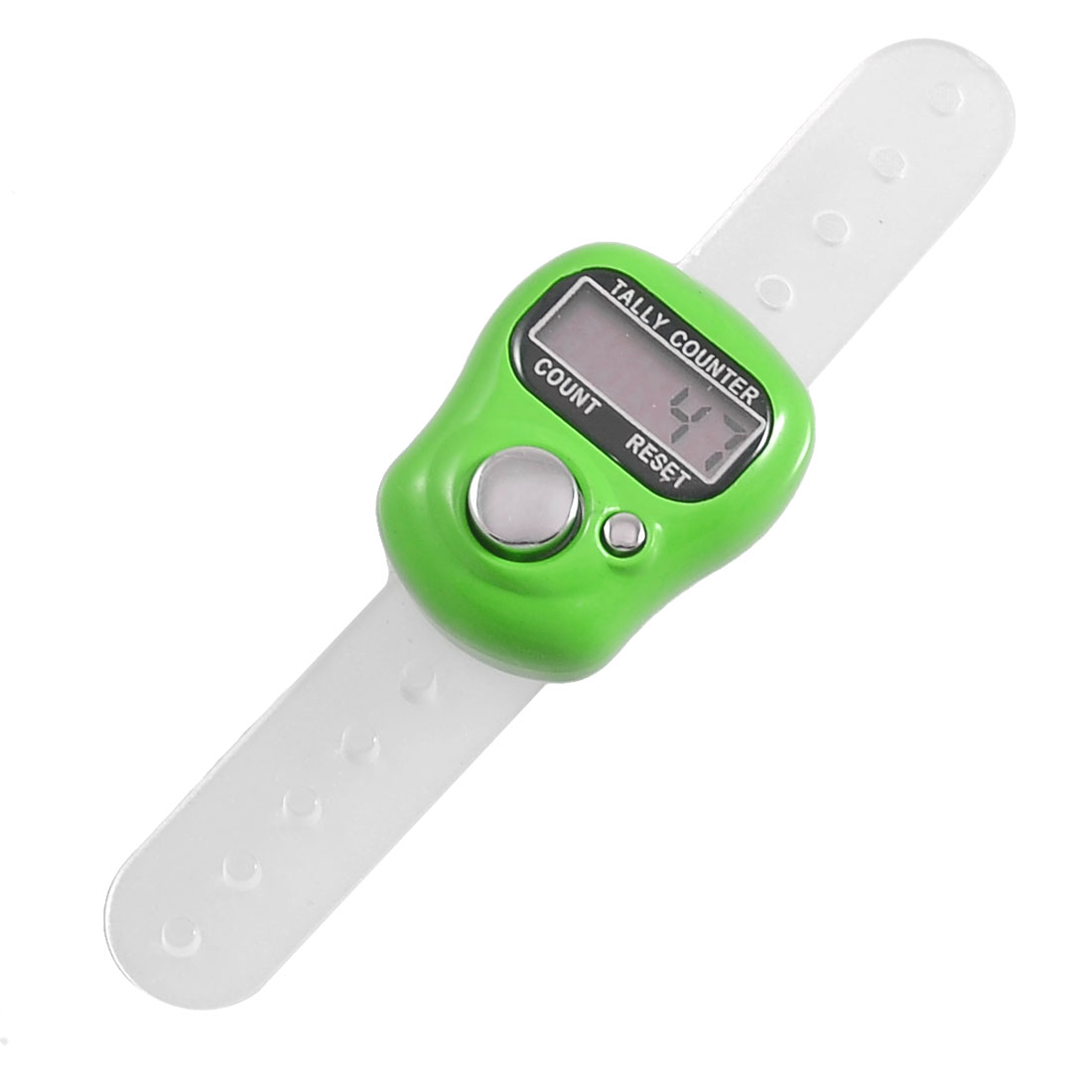 Green Plastic Case 5 Digit LCD Electronic Finger Counter Hand Tally
