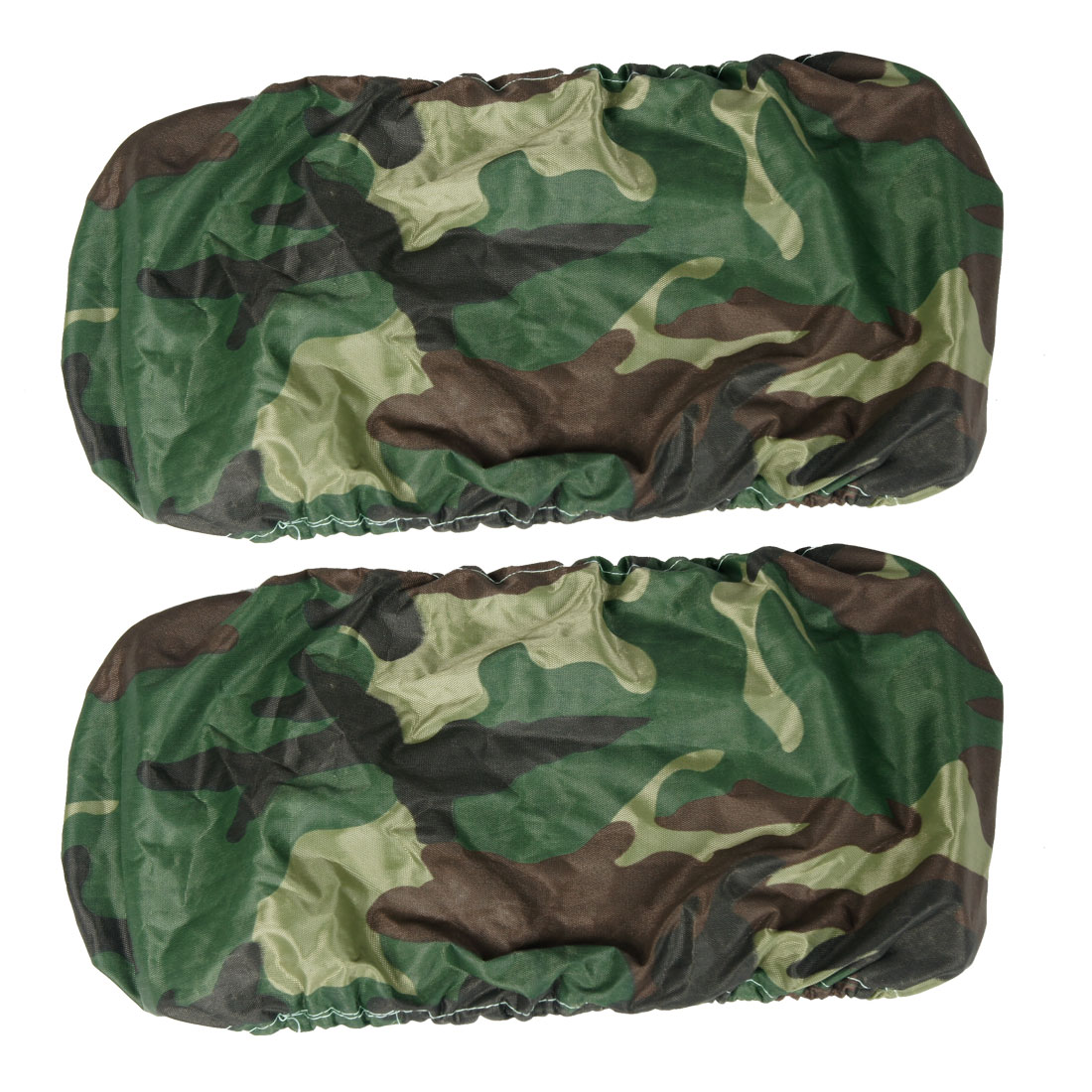 2 x Camouflage Pattern Dust Proof Car Licence Plate Frame Cover Guard