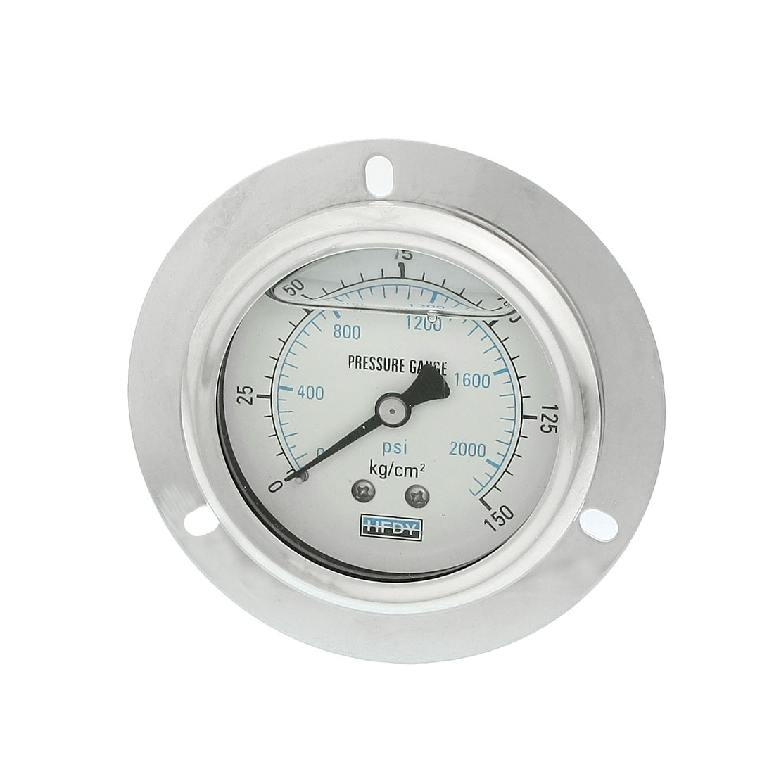 "1/4""PT Axis 0-2000psi 150kg/cm2 Y-60 Model Oil Filled Pressure Gauge"