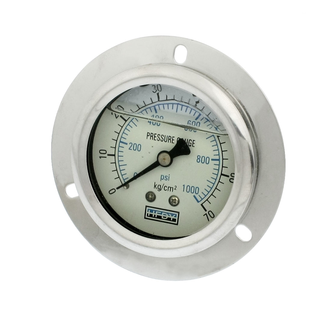 "1/4""PT Axial Y-60 Model 0-1000psi Oil Filled Pressure Gauge"