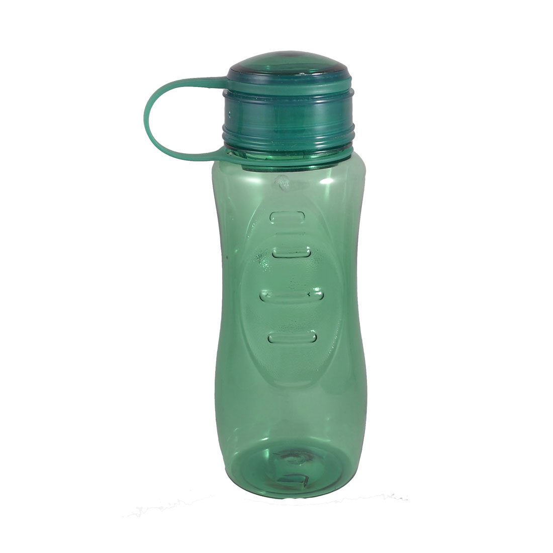 Tea Strainer Design Portable Green Clear Plastic Sports Water Bottle 700ml