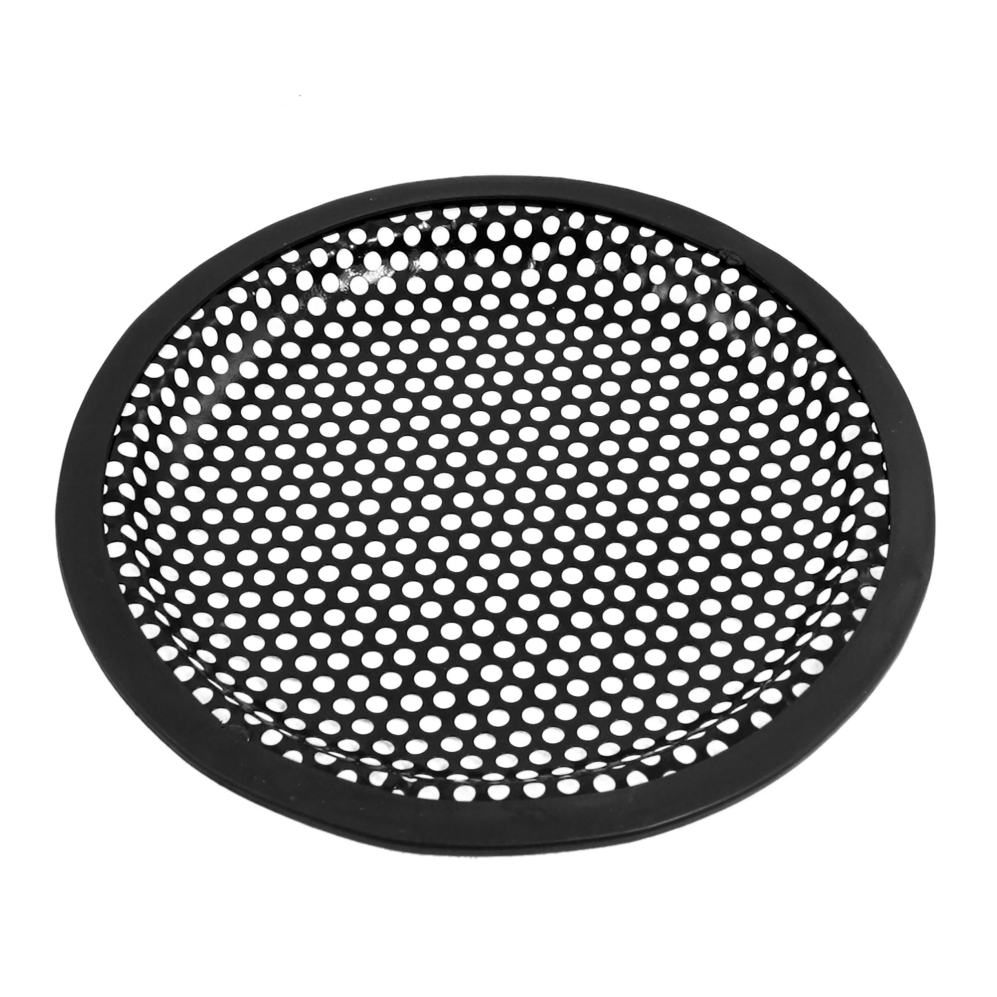 "6"" Universal Metal Car Audio Speaker Sub Woofer Grill Cover Black"
