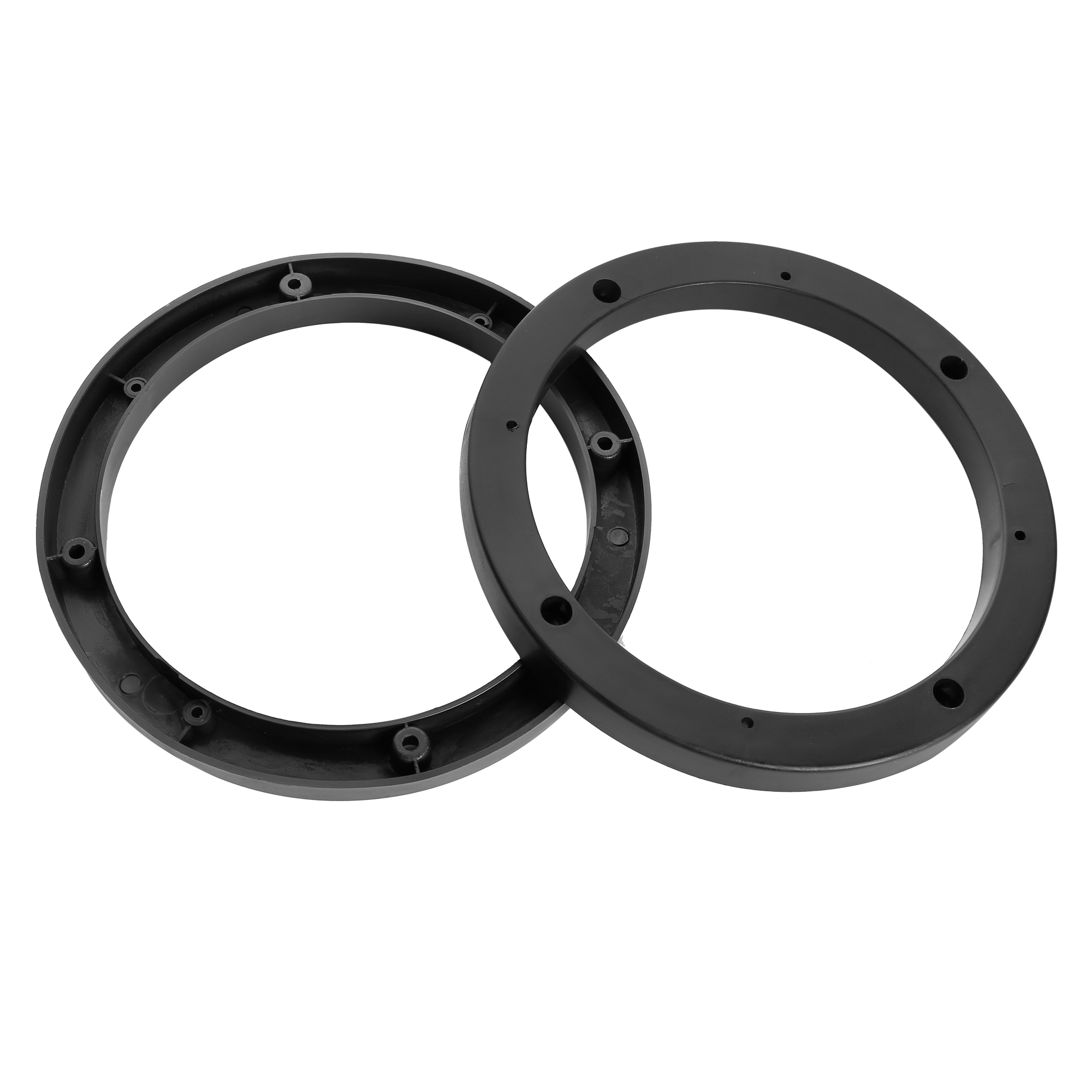 "Auto Car Truck Black 6.5"" Plastic Speaker Spacers 14mm Depth 2 Pcs"