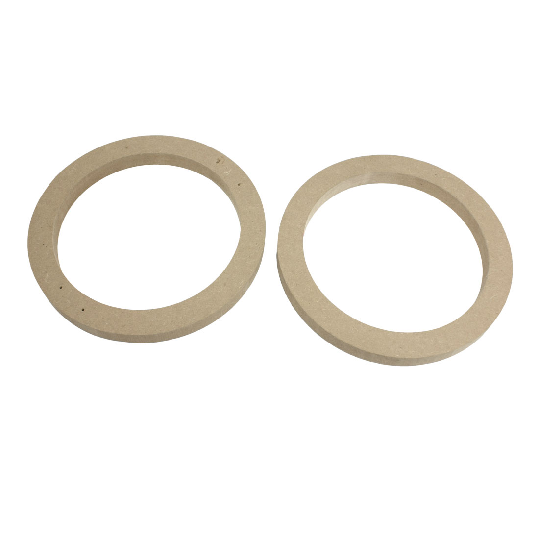 "Vehicle Car Khaki 6.5"" Wooden Speaker Spacers 15mm Depth 2 Pcs"