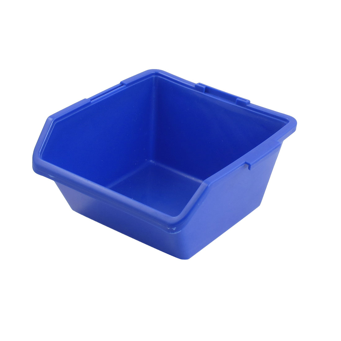 Blue PP Rectangle Office IC Chip Container Component Box