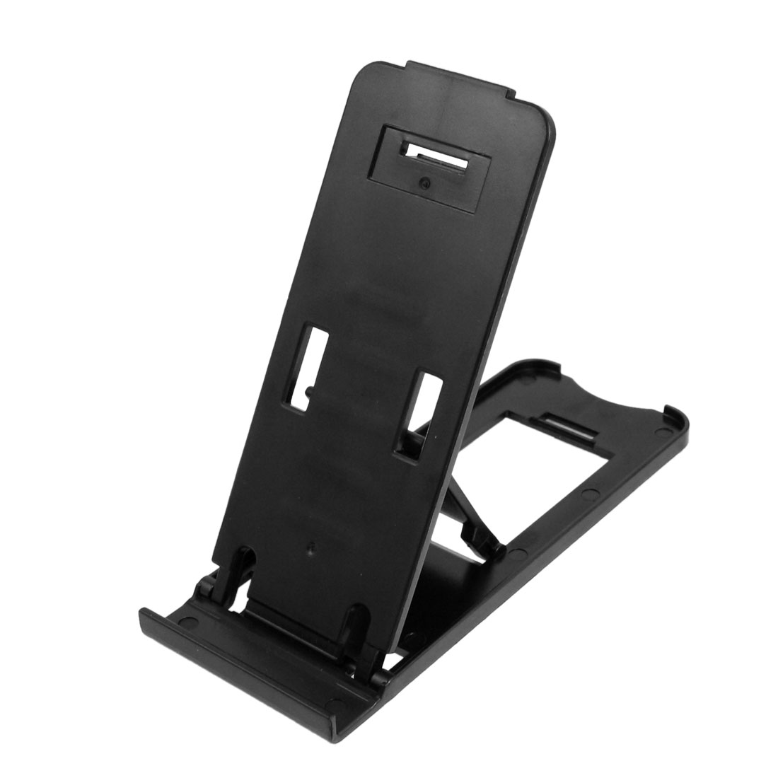 Black Plastic Folding Bracket Stand Holder for Apple iPhone iPad