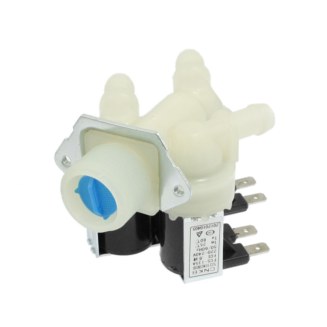 AC 220-240V 3 Tubes Water Inlet Solenoid Valve for Washing Machine
