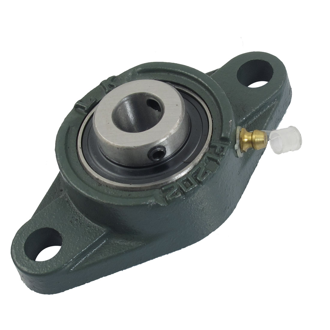 UCFL202 15mm Mounted Block Cast Housing Self-aligning Pillow Bearing