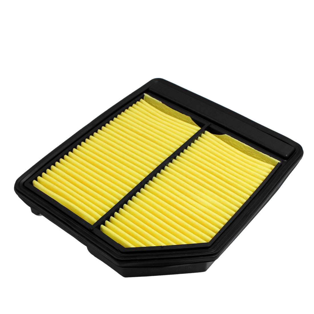Yellow Pleated Paper Air Filter Panel Replacement