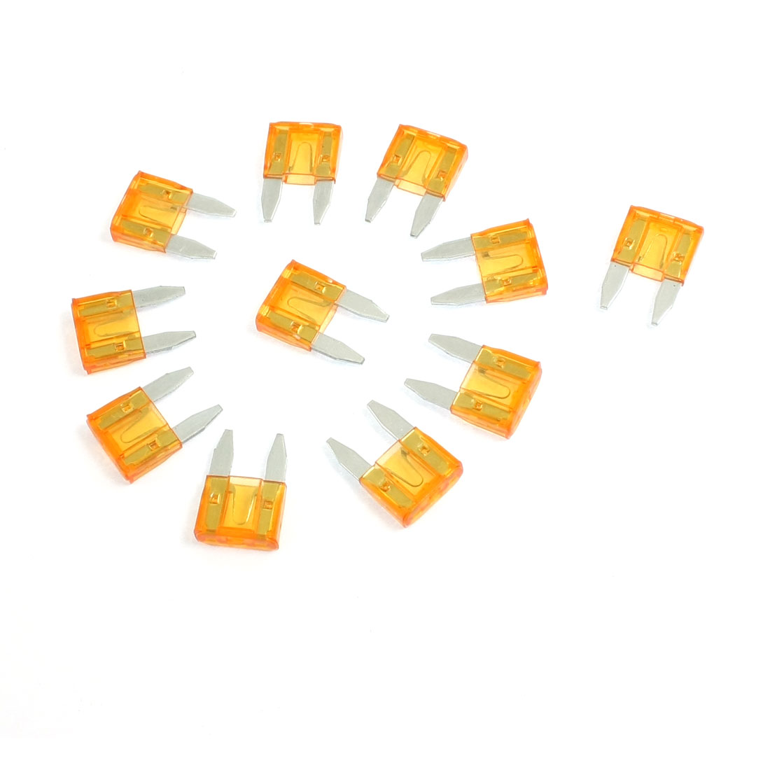 10 Pcs ATC Fuse Auto Car Boat Truck Blade Type 5A Orange