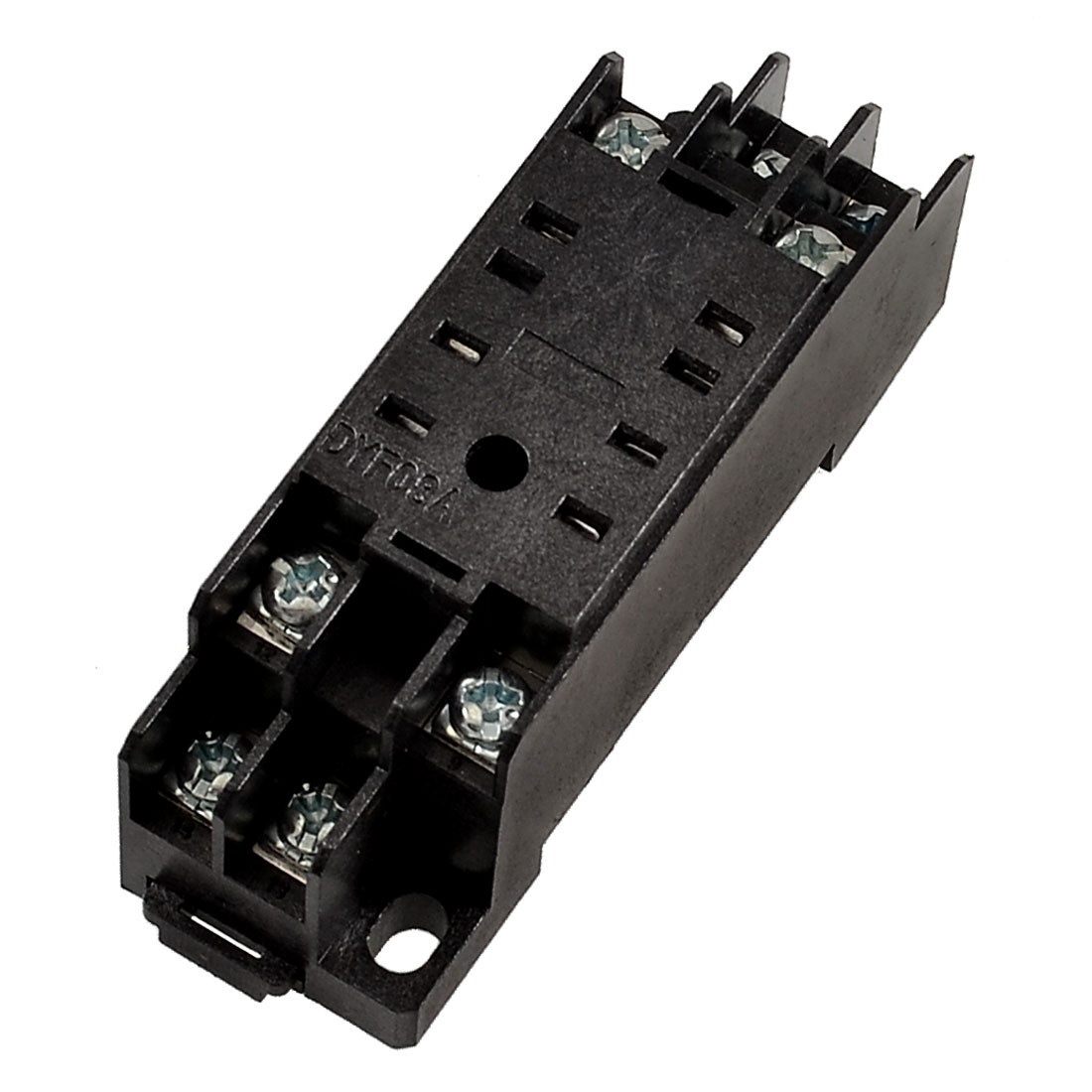 DYF08A 8 Pin Screw Terminals Power Relay Socket Base Stand Holder