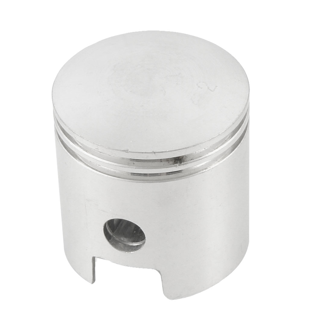 Air Compressor Silver Tone 45mm Dia Aluminum Alloy Engine Piston